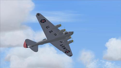 Boeing XB-15 Experimental de Longo Alcance FS2004 Bomber