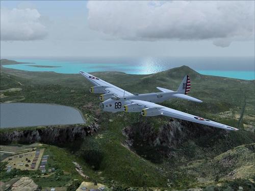 Boeing XB-15 Experimental Long-Range Bomber FS2004