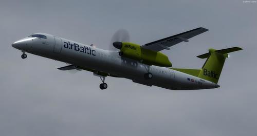 Bombardier Dash 8 Q400 Multi-numera FSX  &  P3D