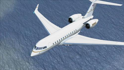 """Bombardier Global Express XRS"" FSX  &  P3D"