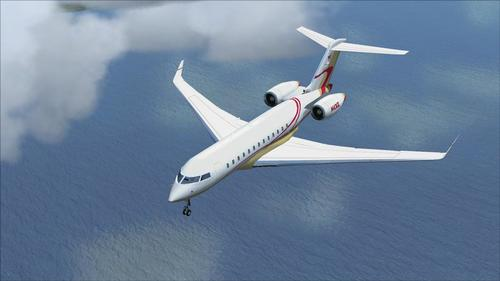 Bombardier Global Express XRS FSX  &  P3D