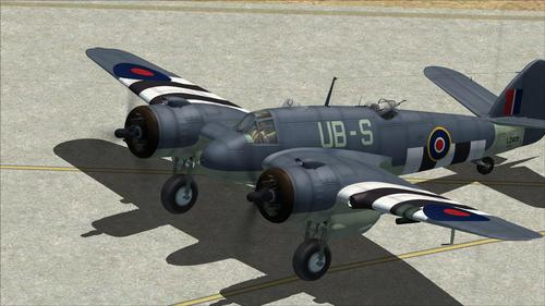 ব্রিস্টল Beaufighter FSX
