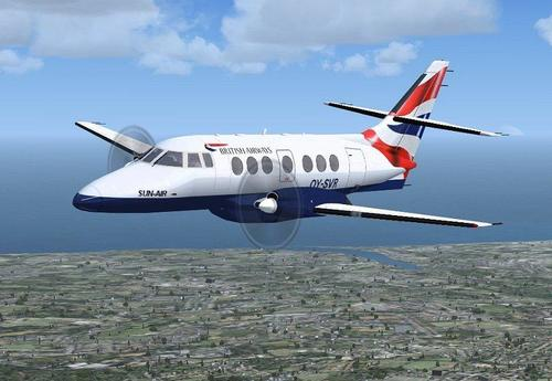 British Azamlengalenga Jetstream 31 / 32 FSX