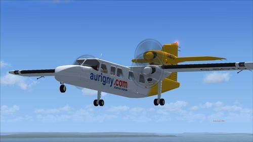 Britten-Norman BN2A Marqos lll-2 Trislander Rizgari