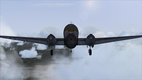 Curtiss C-46 Mashup Comando FS2004