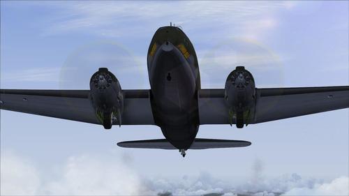Curtiss C-46 Mashup Commando FS2004