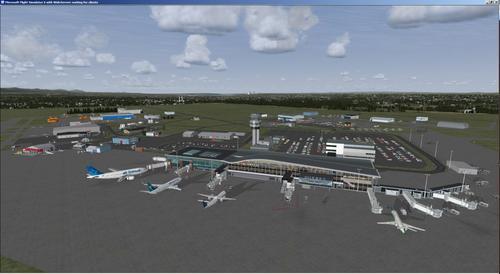 கியூபெக் இன்டெல் விமான நிலையம் ஜீன் லேசேஜ் FSX  &  P3D