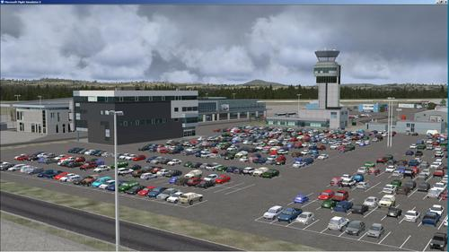 Quebec Intl Airport Jean Lesage FSX & P3D