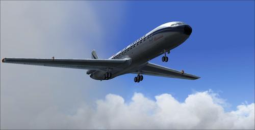 Caravelle III Air France AFG v1.0 Picardie FS2004