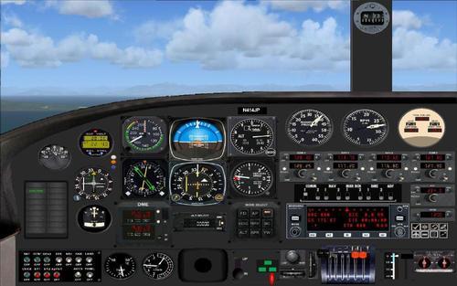 Cessna 414A Chancellor PAD FS2004