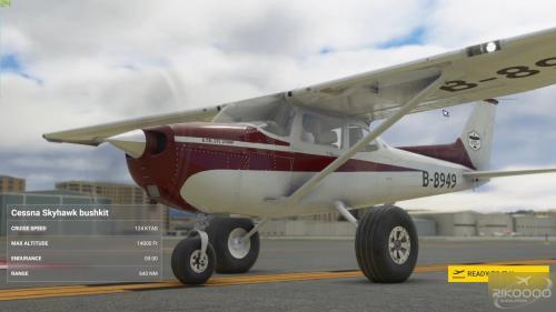 Cessna 172 Bush Dəsti G1000 MSFS 2020