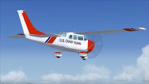 Cessna Stationair 206 Coast Guard FSX
