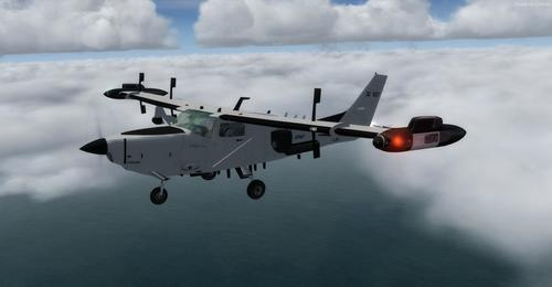 Cessna T206H Soloy turbina Pac Mark 2 FSX  &  P3D