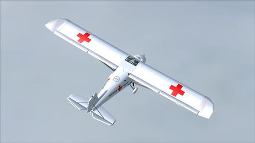 Comco Ikarus C42 Red-Cross FS2004