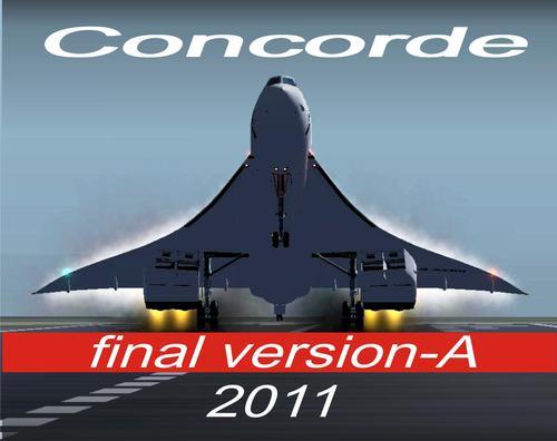 Concorde Mwisho Version-2011 FSX