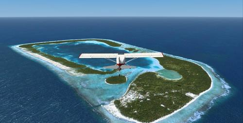 Lihlekehleke tsa Cook Islands Photo Real FSX  &  P3D