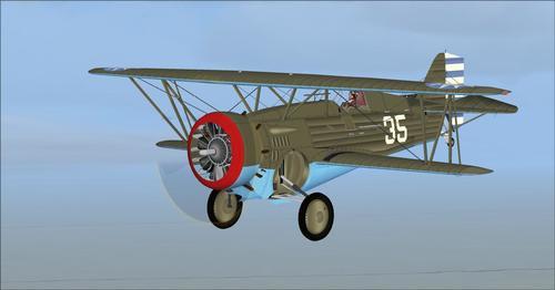 Curtiss Hawk III 68 & BF2C-1 FSX