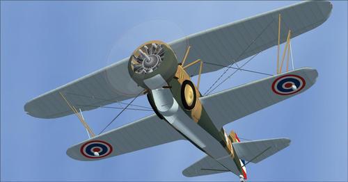 Curtiss Hawk III 68 és BF2C-1 FSX