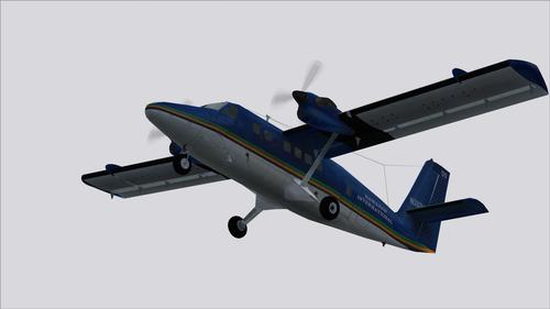 DHC-6 Long Nose Hawaiian International FS2004