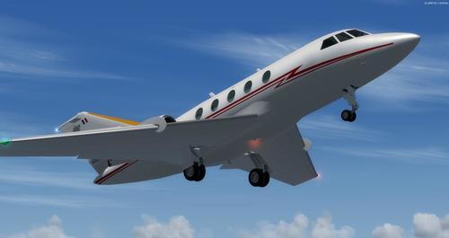 I-Dassault Falcon 20E FSX  &  P3D