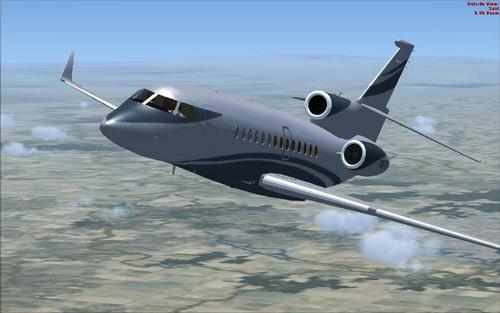 FSX ለ Dassault Falcon 7X