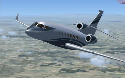 Dassault Falcon 7X para FSX