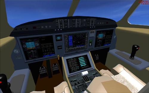 Dassault Falcon 7X per FS2004