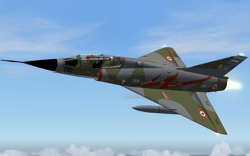 Dassault Mirage III B Last FS2004 Flight