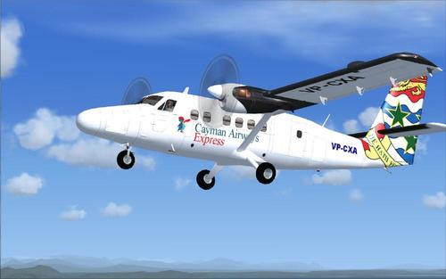 DeHavilland Viking DHC6-400 کونړ Otter FSX