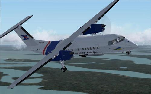 Dash8-Q311 - Icelandic Coast Guard FS2004