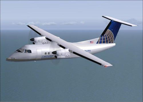 DeHavilland DHC8-Q 202 Package fir FSX