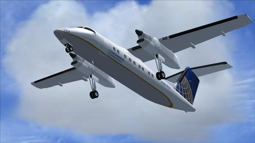 DeHavilland DHC8-Q 202 Package FS2004