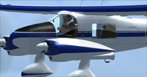 Dornier Do28A-1 Cassic Wings FSX