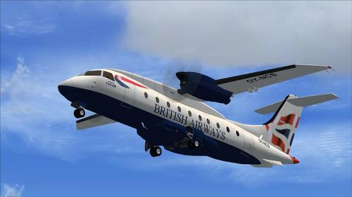UDornier Do328 Turbo we FSX