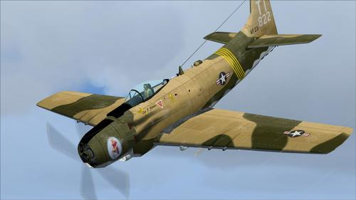 Douglas A1 Skyraider FS2004