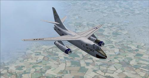 """Douglas B-66 Destroyer"" FSX  &  P3D"