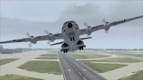 Duglas C-133B CargoMaster USAF FS2004