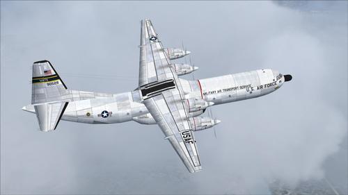 Douglas C-133B Cargomaster USAF FS2004