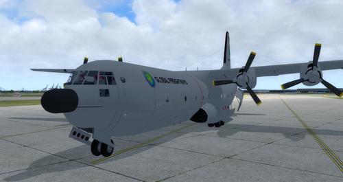 Reelaboració 133 de Douglas C-2.0B Cargomaster FSX  &  P3D
