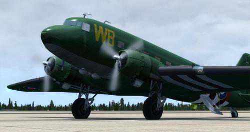 Douglas DC-3 Enhanced FSX & P3D