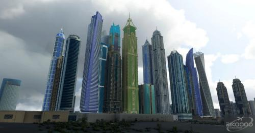 Dubai City Pack v1.0 MSFS 2020