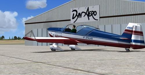 Dyn ኤሮ CR100 FSX SP2