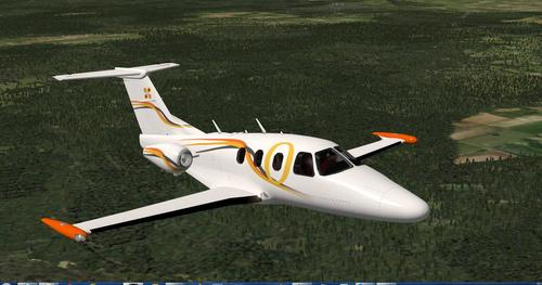 Eclipse 550 V1.1 X-Plane  10