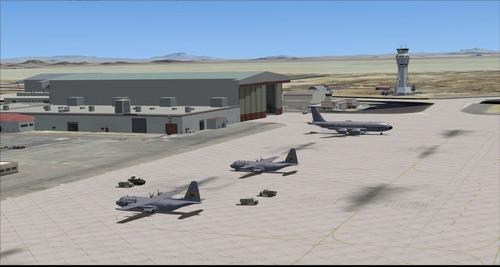 Edwards Air Force Base KEDW Photoreal FSX & P3D