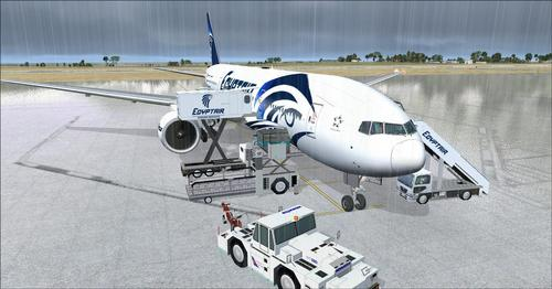Egyptptair fleet Ultimate pack v1.2 FSX  &  P3D