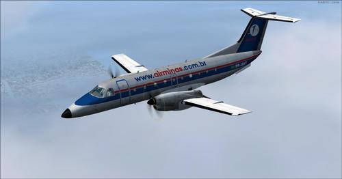 Embraer EMB120 Braziljo V1.1 FSX & P3D