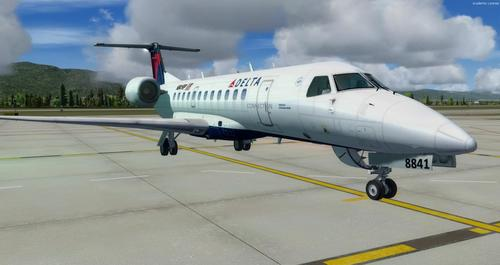 Embraer ERJ 135 Aml-lifrai FSX  &