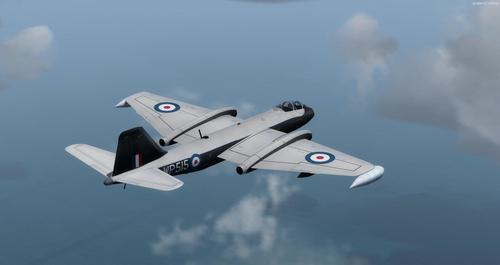 English Electric Canberra B-57B FSX  &  P3D