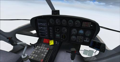 Եվրոկոպտեր AS350-BA Fspainter Complete FS2004
