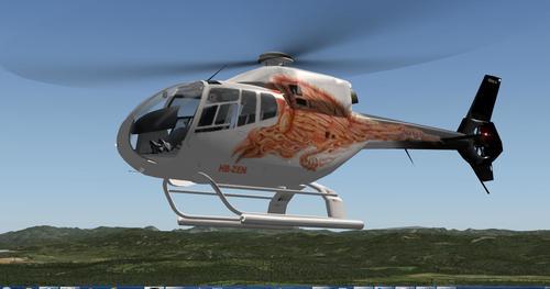 Eurocopter EC120B Colibri v1.3 X-Plane 10